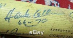 Vintage 1970's Washington Senators Team Signed 28 Baseball Bat Frank Howard