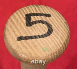 Vintage 1980's B. J. Surhoff Milwaukee Brewers Signed Game Used Baseball Bat Old