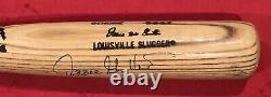 Vintage 1986 89 Ozzie Guillen Chicago White Sox Signed Game Used Baseball Bat