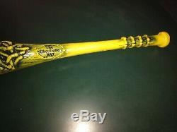 Vintage 1986 RARE Yellow Ghouliville Bat Marchon Madballs Baseball