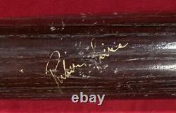 Vintage 1987 1989 Ruben Sierra Texas Rangers Signed Game Used Baseball Bat Old
