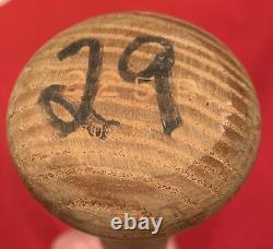 Vintage 1988 Jesse Barfield Toronto Blue Jays Signed Game Used Baseball Bat Old