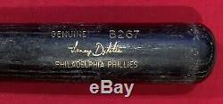Vintage 1990's Lenny Dykstra Phila Phillies Game Used LS Baseball Bat Good Use
