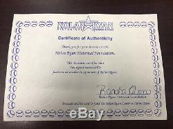 Vintage 1993 Nolan Ryan Signed Baseball Bat Louisville Slugger Texas Rangers MLB