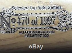 Vintage 1997 Cleveland Indians All-Star Game Baseball Bat 35 # 470 of 1997