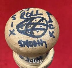 Vintage 1999 Jimmy Rollins Pre-Rookie Phillies Game Used Baseball Bat PSA Cert