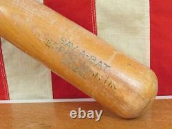 Vintage 40s Sav-A-Bat Wood Baseball Bat Pepper Martin Model 33 Mueller Perry Co