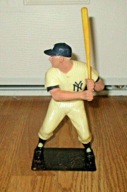 Vintage 60's Hartland Plastics Mickey Mantle Yankees Figurine W Bat