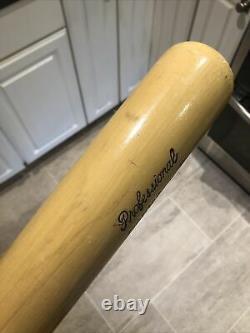 Vintage 60s/70s Sav-A-Bat Wood Baseball Bat Roberto Clemente HOF Mueller Perry