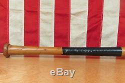 Vintage 60s Louisville Slugger H&B Wood Baseball Bat 125 Roger Maris Model 35