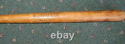Vintage A. J Reach Co. Indoor No. 2 Wooden Baseball Ba t33 long