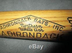 Vintage Adirondack Baseball Bat 302 1958-60 Practice Swing Stunning