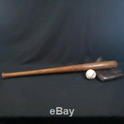 Vintage/Antique 1910-1920 Spalding 100P Series-P5 Model Baseball Bat-A Beauty