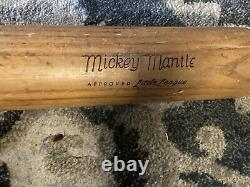 Vintage Antique Baseball Bat Lot Of 4 1930s And Up Mickey Mantle & Ted Williams