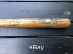 Vintage Antique Decal Baseball Bat