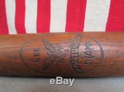 Vintage Antique Lee Pymatuning Swamp Wood Baseball Bat 29 PA. /OH. Unique & Rare