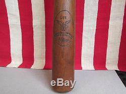 Vintage Antique Lee Pymatuning Swamp Wood Baseball Bat PA. Folk Art OH. Rare