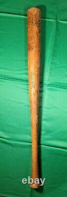 Vintage Antique Thos E Wilson Wood Baseball Bat Dated 1922-1931 32 Rare