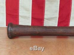 Vintage Antique Wood Baseball Bat Handmade 32 Turn of the Century Folk Art