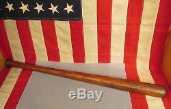 Vintage Ball Bounder  No. 40 Wood Baseball Bat Richmond, VA. 30 Antique Rare