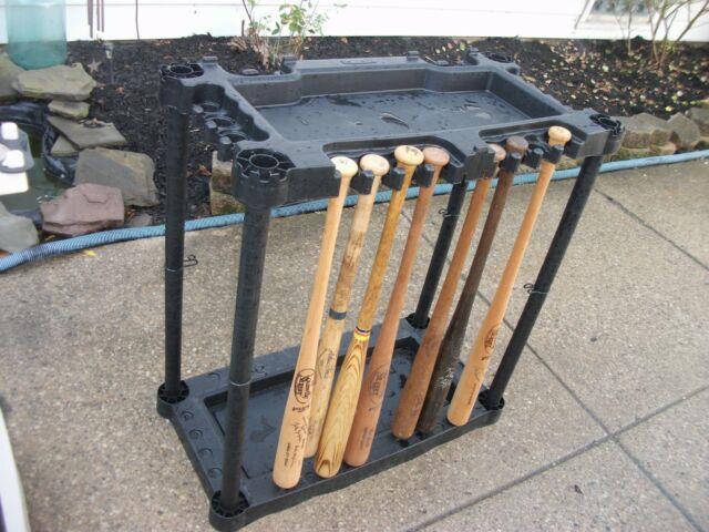 Vintage Baseball Bat Bat Rack Great Condition Rare & Unique Model Holds 20 Plus