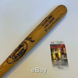 Vintage Brooks Robinson Signed Louisville Slugger Baseball Bat With JSA COA