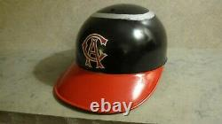 Vintage California Angels ABC batting helmet (not game worn)
