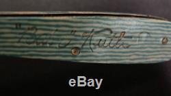 Vintage Camillus Cutlery Babe Ruth Pocket Knife Baseball Bat Shape Souvenir