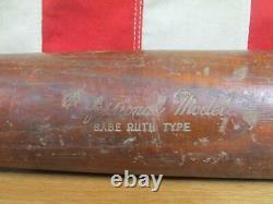 Vintage Champion Wood Baseball Bat Babe Ruth Professional Model 35 Amyx Mfg Co