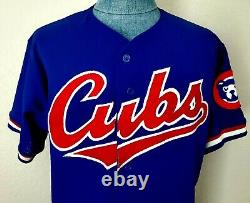 Vintage Chicago Cubs game worn/issued jersey Majestic Size XL