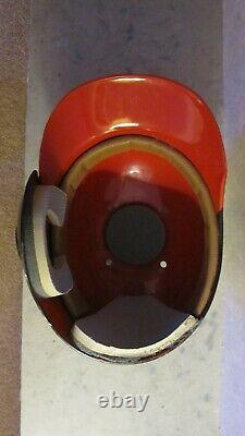 Vintage Cleveland Indians ABC batting helmet Oscar Gamble style circa 1975