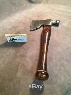 Vintage Craftsman short axe hatchet hammer custom JESSE REED baseball bat handle