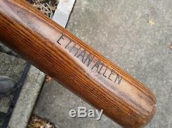 Vintage DERBY MADE Ethan Allen Baseball Bat 36