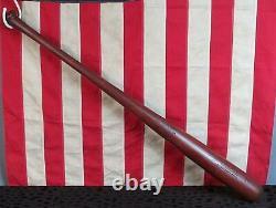Vintage Draper Maynard D&M Wood Baseball Bat HOF Ed Mathews Model Semi Pro 35
