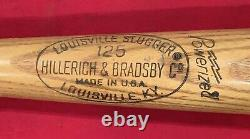 Vintage Early 1970's Jay Johnstone Phillies Signed Game Used LS Baseball Bat