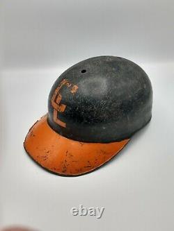 Vintage Fiberglass Baseball Batting Helmet American Baseball Cap Abc Rare