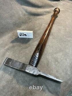 Vintage GNRY blacksmith rock pick axe tool custom JESSE REED baseball bat handle