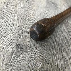 Vintage Game Used 1903 AG Spalding Bros. Wood Mushroom Baseball Bat 34 3 lbs