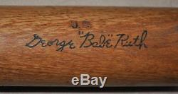 Vintage George Babe Ruth Hillerich & Bradsby Baseball Bat Must See Yankees NoRes