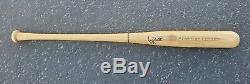 Vintage George Brett Signed Baseball Bat with American Century Investments Logo