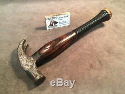 Vintage Hand Forged 20oz claw hammer custom JESSE REED baseball bat handle