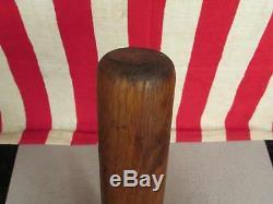 Vintage Handcrafted Wood Baseball Bat Antique 31 Folk Art Unique Great Display