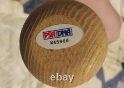Vintage Hank Aaron Signed Adirondack Model 302F Baseball Bat PSA COA