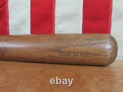 Vintage Hanna Wood'Semi Pro' Baseball Bat Rudy York Style 34 Detroit Tigers