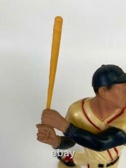 Vintage Hartland Ted Williams Red Sox #9 Baseball Figure 1958-1962 +Original Bat