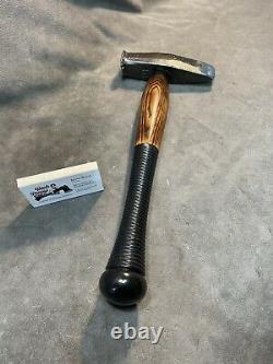 Vintage Heller blacksmith hammer maul axe custom JESSE REED baseball bat handle