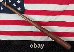 Vintage Hillerich & Bradsby H&B Wood Leader Baseball Bat Mickey Vernon Model 35