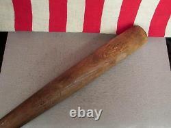Vintage Hillerich & Bradsby Wood Baseball Bat H&B Leader Jackie Robinson HOF 34