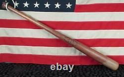 Vintage Hillerich & Bradsby Wood Blue Streak Baseball Bat No12 Pepper Martin 36