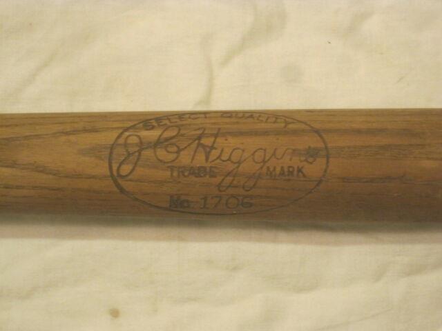 Vintage J C Higgins 1706 Baseball Bat Antique Wooden Solid Wood Approx. 34